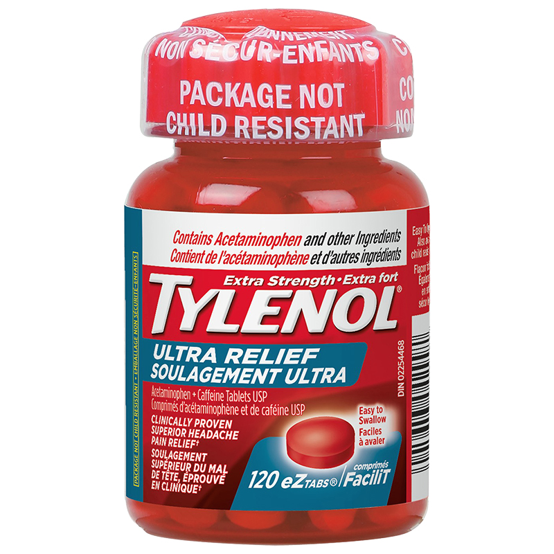 Tylenol* Extra Strength Ultra Relief - 120's