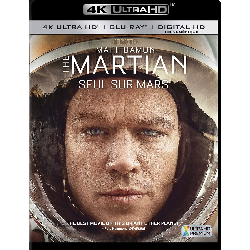 The Martian - 4K UHD Blu-ray