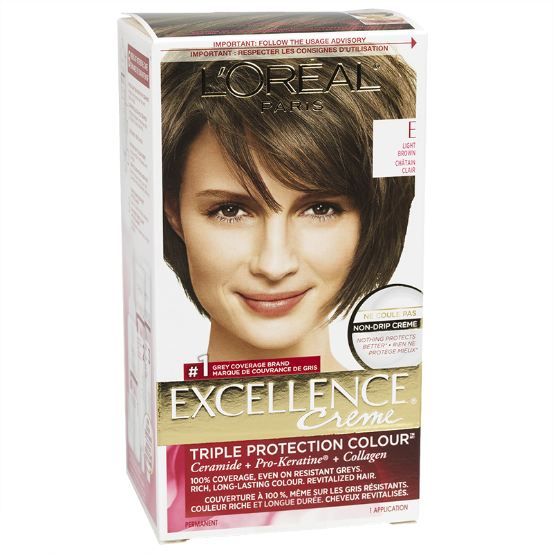L'Oreal Excellence Creme - E Light Brown