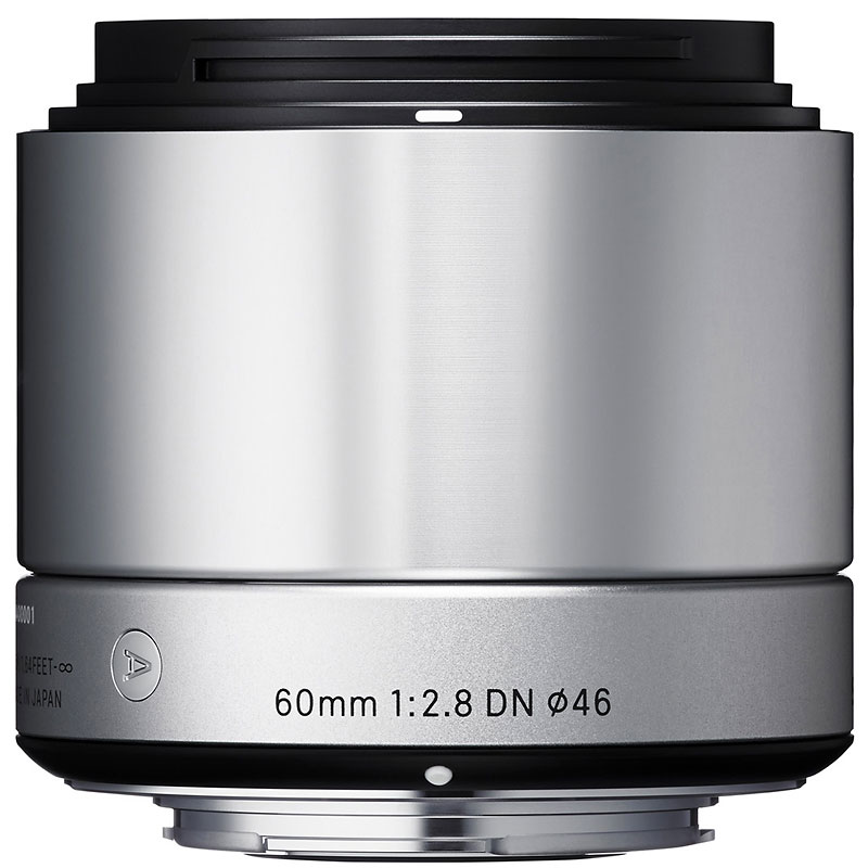 Sigma Art 60mm F2.8 DN Silver Lens for Sony NEX - A60DNSRSE