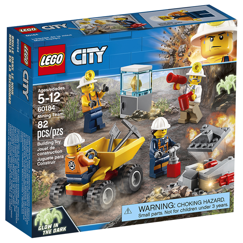 LEGO City - Mining Team
