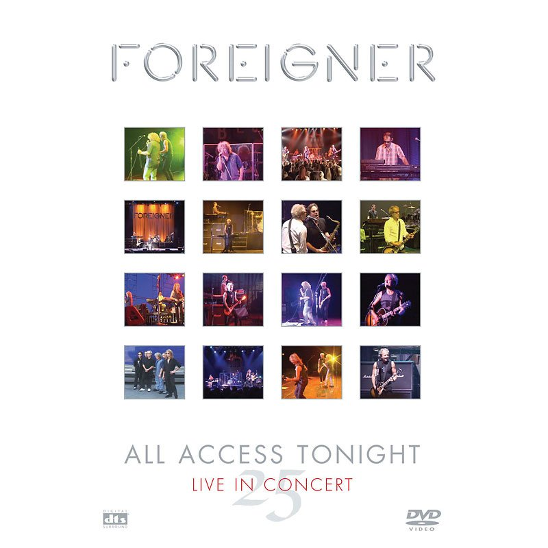 Foreigner - Access Tonight (Live in Concert 25) - DVD