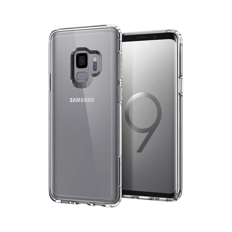 reputable site 82fe3 42299 Spigen Slim Armor Case for Samsung Galaxy S9 - Crystal Clear - SGP592CS22884