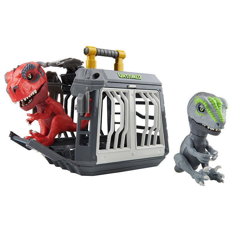 Wowee Fingerling Untamed Jailbreak Playset with T-Rex - Infrared