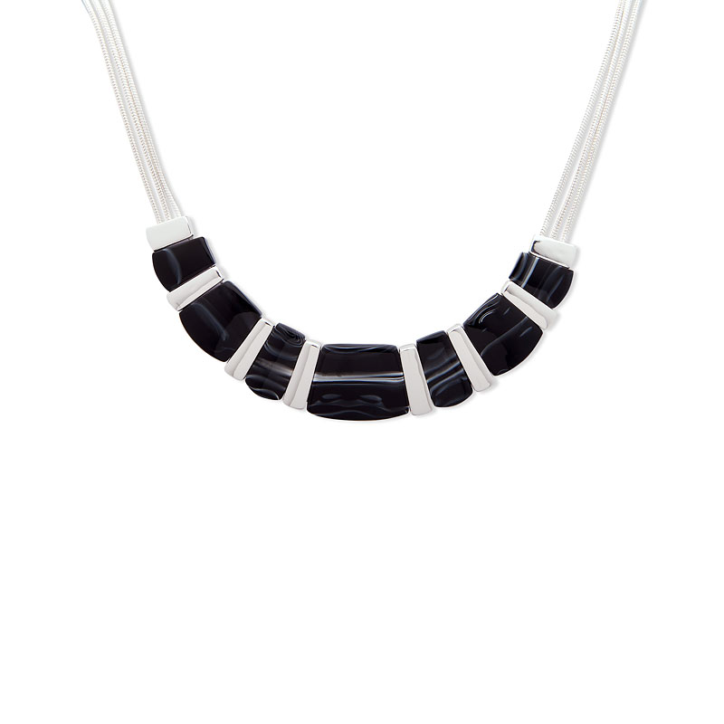 Nine West Frontal Necklace - 16""