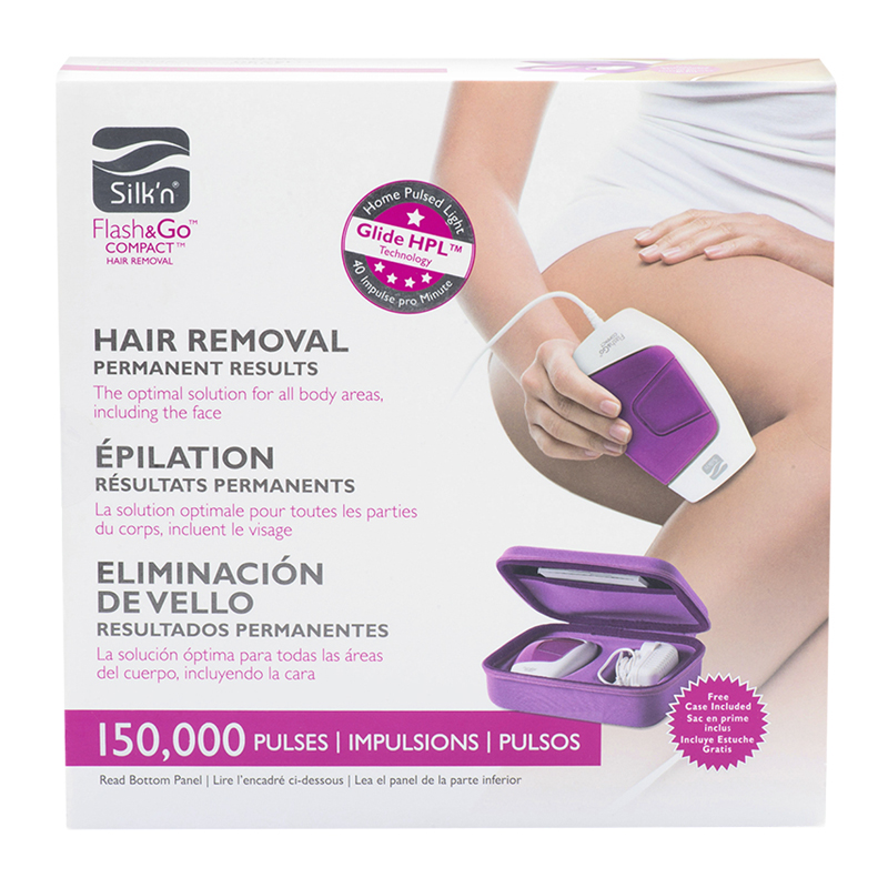 Silk'n Flash & Go Compact Hair Removal - PK108832A