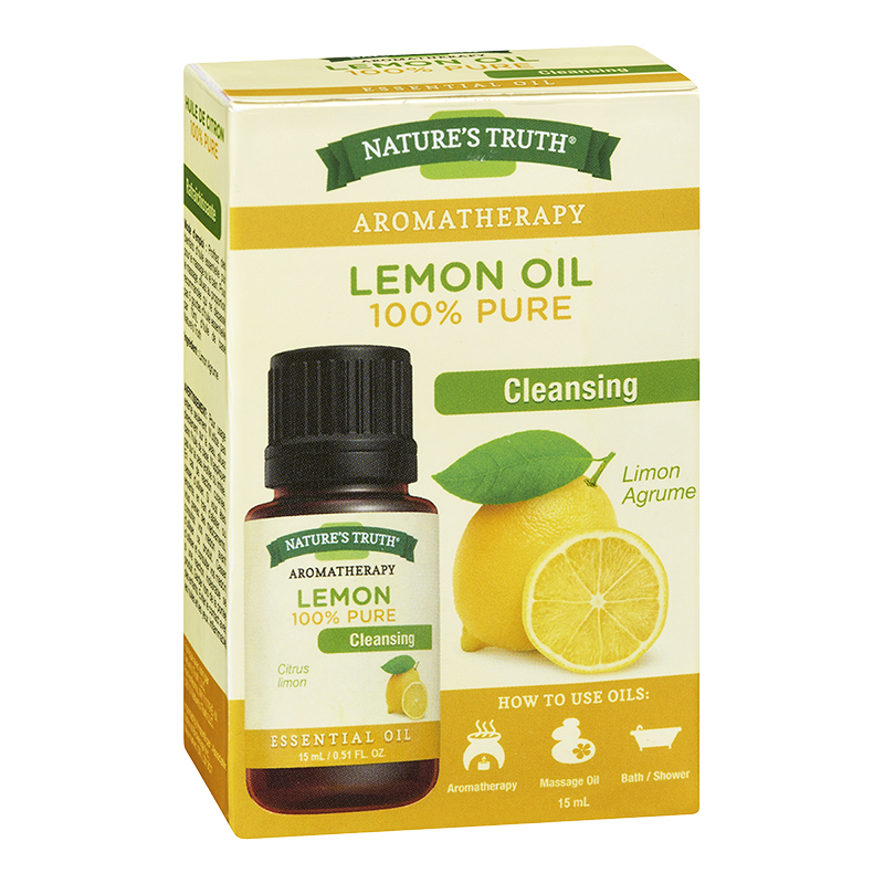 Nature's Truth Aromatherapy 100% Pure Essential Oil - Lemon - 15ml