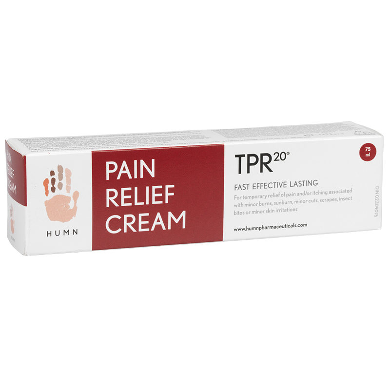 HUMN TPR20 Pain Relief Cream - 75ml