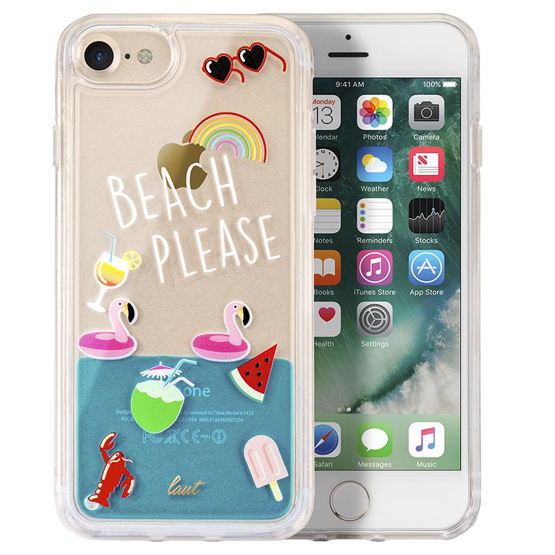 reputable site bfcd7 d4e45 Laut Pop Liquid Case for iPhone 6/7/8 - Beach Please - LAUTiP7SPOPBP