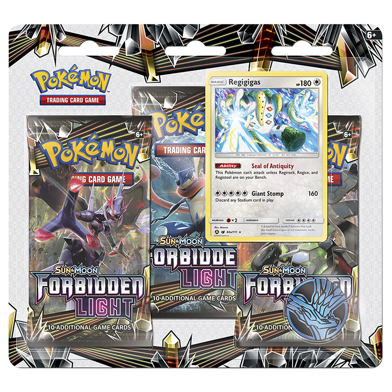 Pokémon Sun/Moon 6 Blister Pack - 3 pack