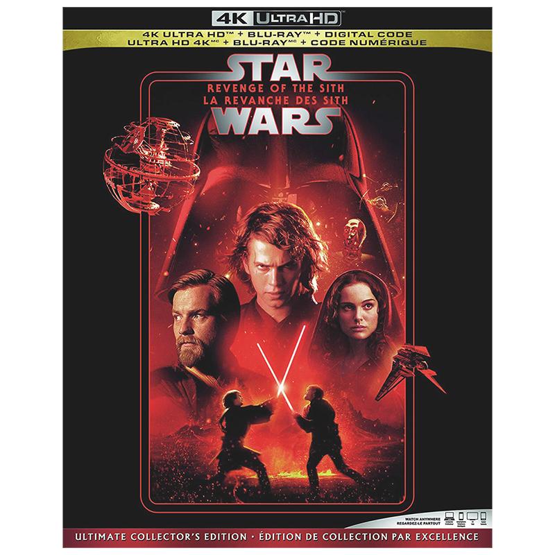 Star Wars Episode Iii Revenge Of The Sith 4k Uhd Blu Ray London Drugs