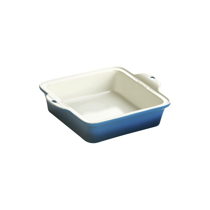 Lodge Stoneware Baking Dish - Blue - 8 x 8in