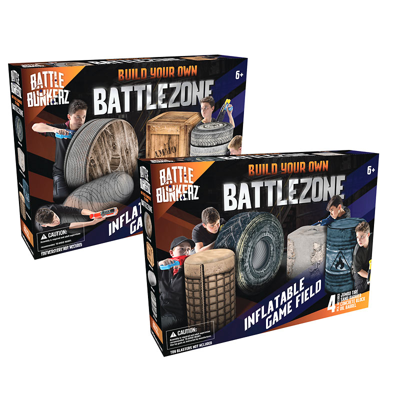 Battle Bunkerz Inflatable Battlezone - Assorted