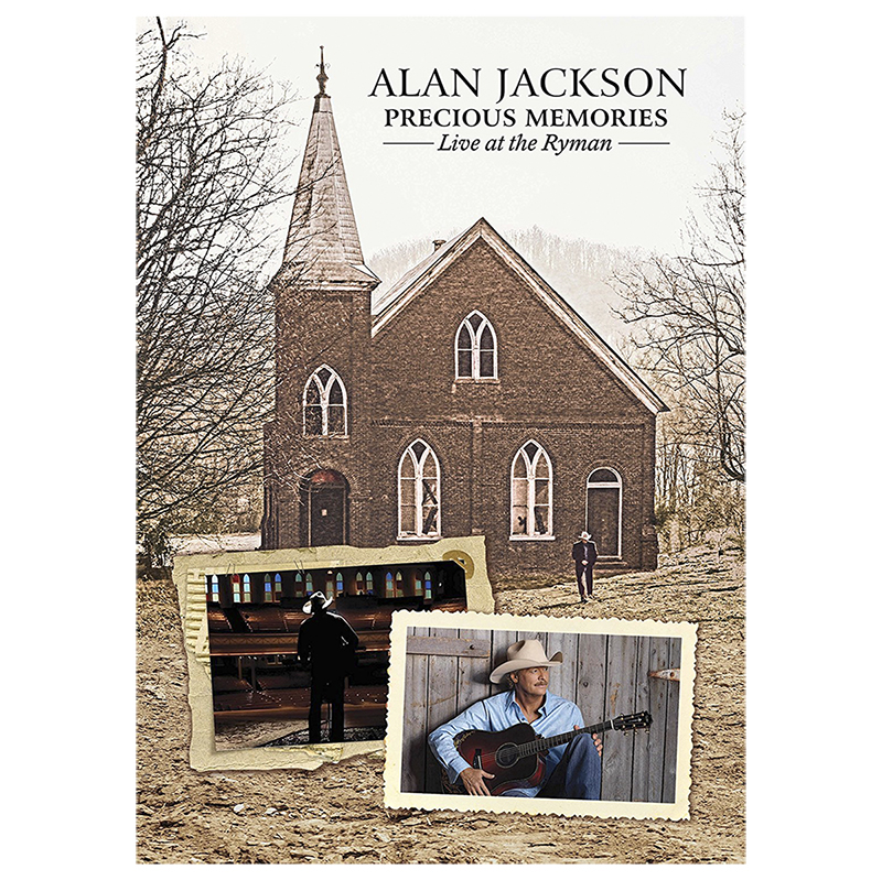 Alan Jackson - Precious Memories: Live at the Ryman - DVD