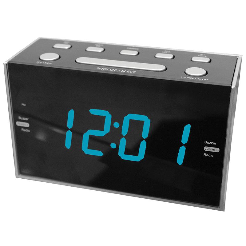 sylvania digital clock radio scr1053 london drugs. Black Bedroom Furniture Sets. Home Design Ideas