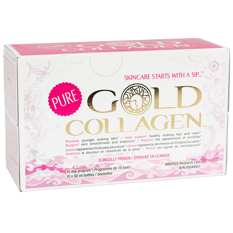 Pure Gold Collagen - 10 x 50ml