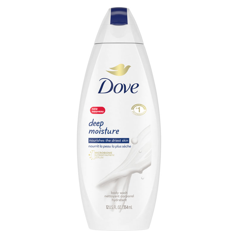 Dove Deep Moisture Hydration Body Wash - 354ml