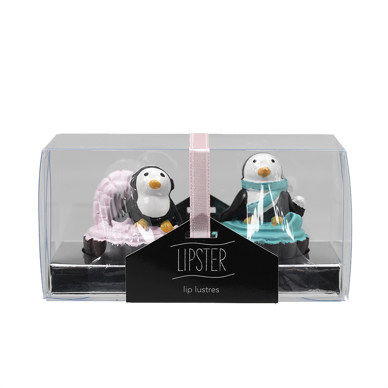 Star&Rose Lipsters Lip Gloss Set - Penguins - 2's