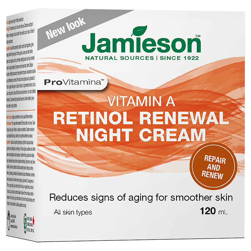 Jamieson ProVitamina A-Retinol Renewal Night Cream - 120ml