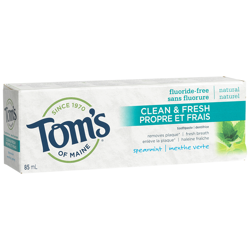 Tom's of Maine Natural Anti-Cavity Toothpaste - Fluoride-Free - Spearmint - 85ml