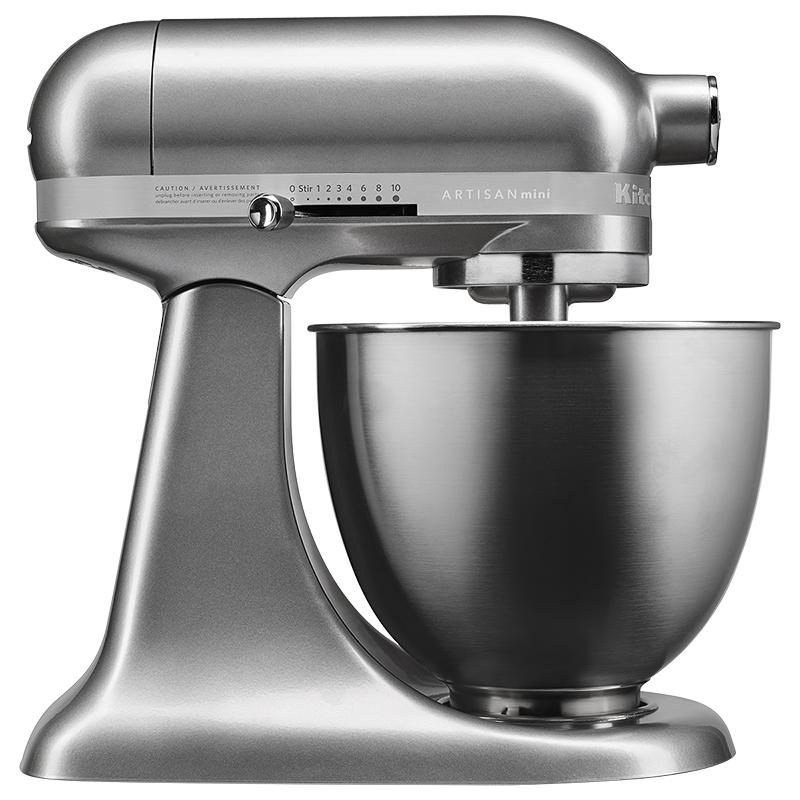 Kitchenaid 3 5q Artisan Mini Mixer Silver