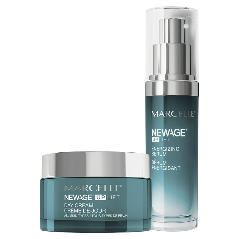 Marcelle New Age UpLift Morning Routine: Day Cream + Serum