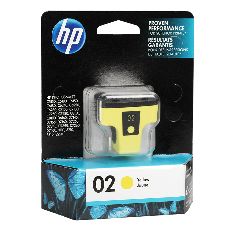 HP 2 Vivera Ink Cartridge - Yellow - C8773WN#140