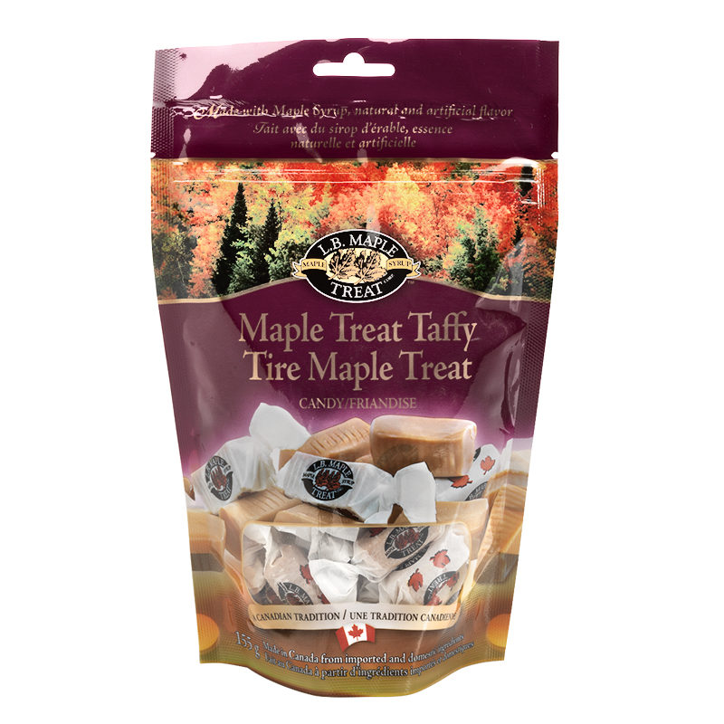 L.B. Maple Treat Taffy - 155g