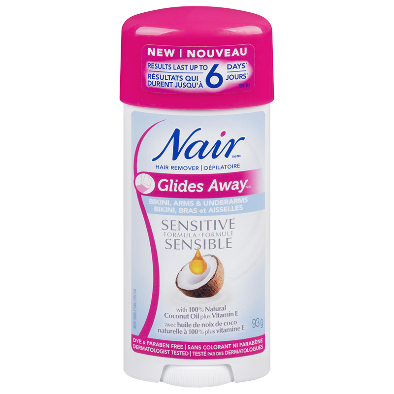 Nair Hair Remover Glides Away - Sensitive - 93g