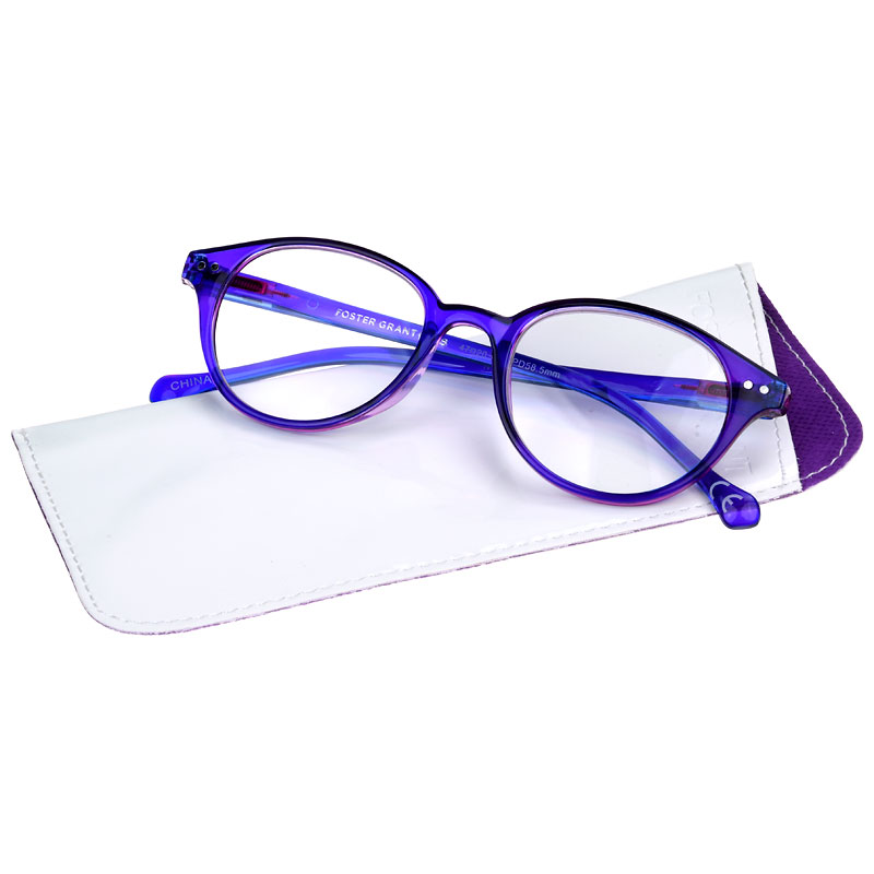 Foster Grant Hallie Women's Reading Glasses - Purple - 2.50