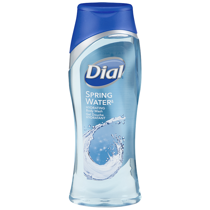 Dial Antibacterial Body Wash - Spring Water - 473ml
