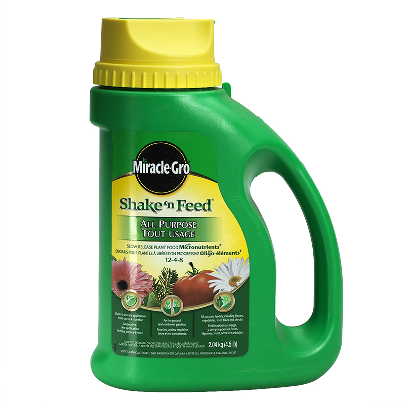 Miracle-Gro Shake 'N Feed All Purpose Slow Release Plant Food - 2.04kg