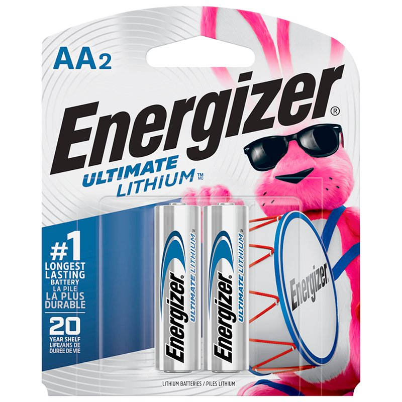 Energizer Ultimate Lithium AA Battery - 2 pack