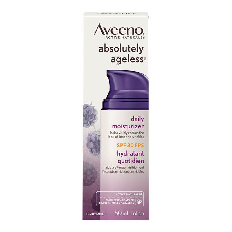 Aveeno Active Naturals Absolutely Ageless Daily Moisturizer - SPF 30 - 50ml