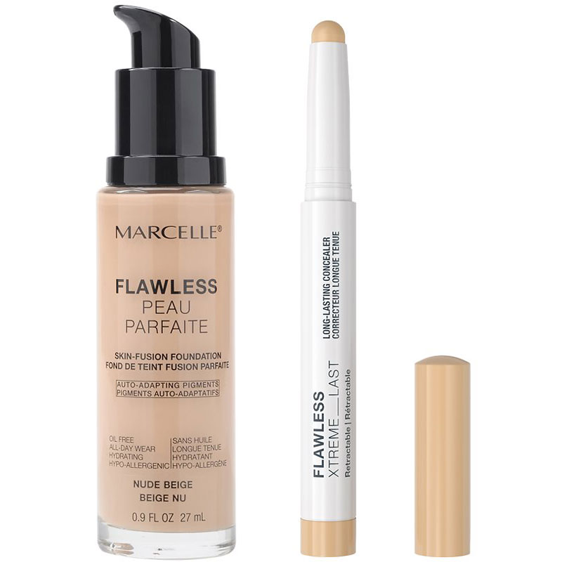 Marcelle Flawless Luminous Kit Foundation and Concealer Set