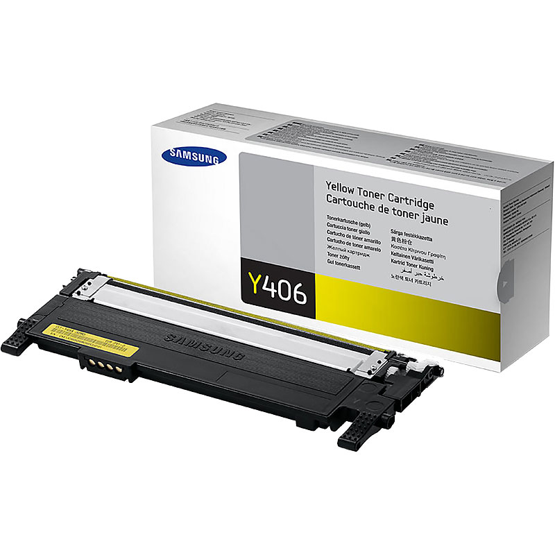 Samsung Toner Cartridge - Yellow - CLT-Y406S/XAA