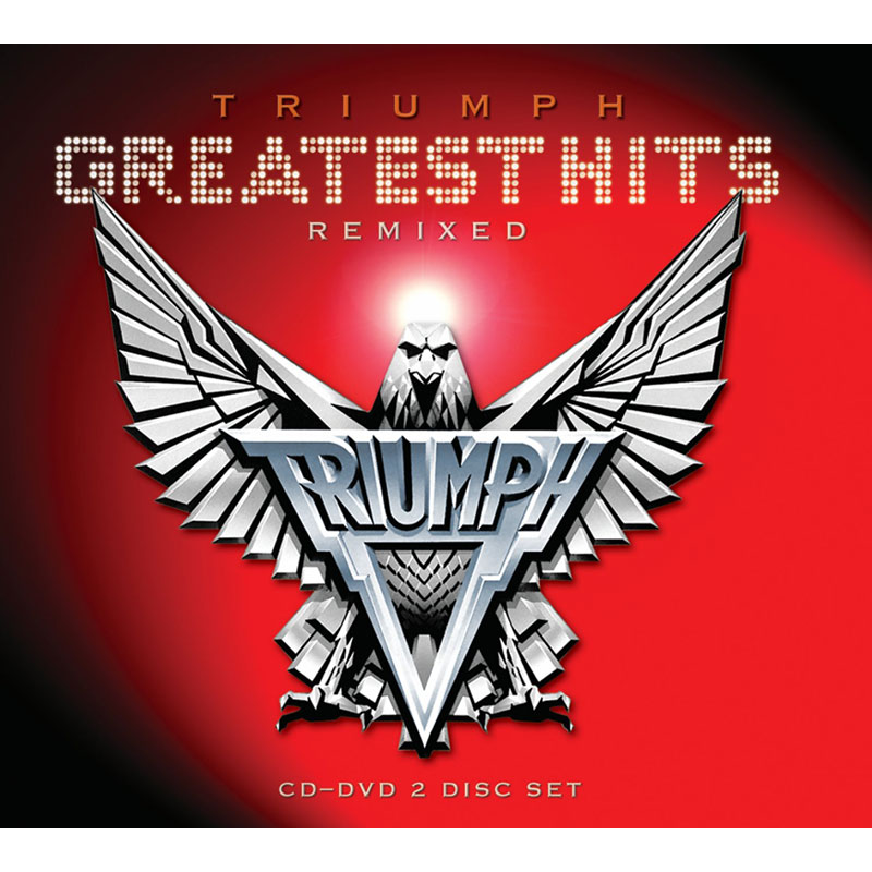 Triumph - Greatest Hits Remixed - CD + DVD