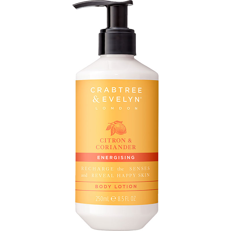 Crabtree & Evelyn Citron & Coriander Energising Body Lotion - 250ml