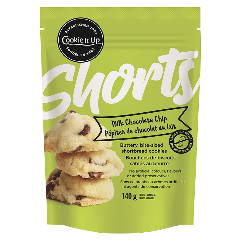Shorts Shortbread Cookies - Milk Chocolate Chip - 140g