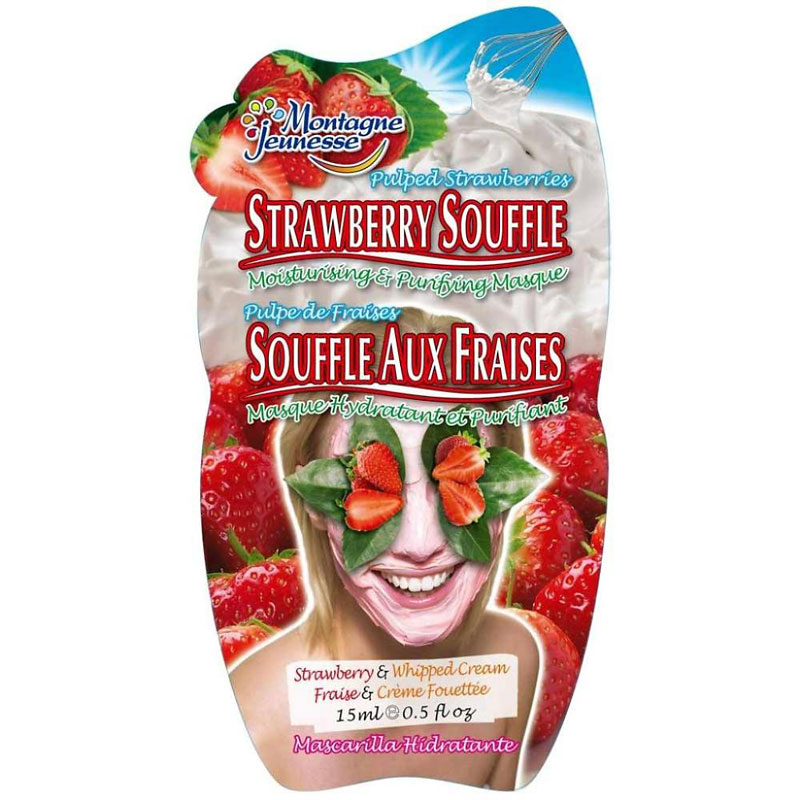 Montagne Jeunesse Strawberry Souffle Masque - 15ml