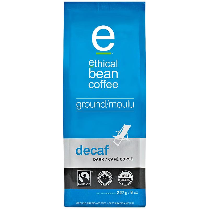 Ethical Bean - Decaf - Ground Coffee - 227g