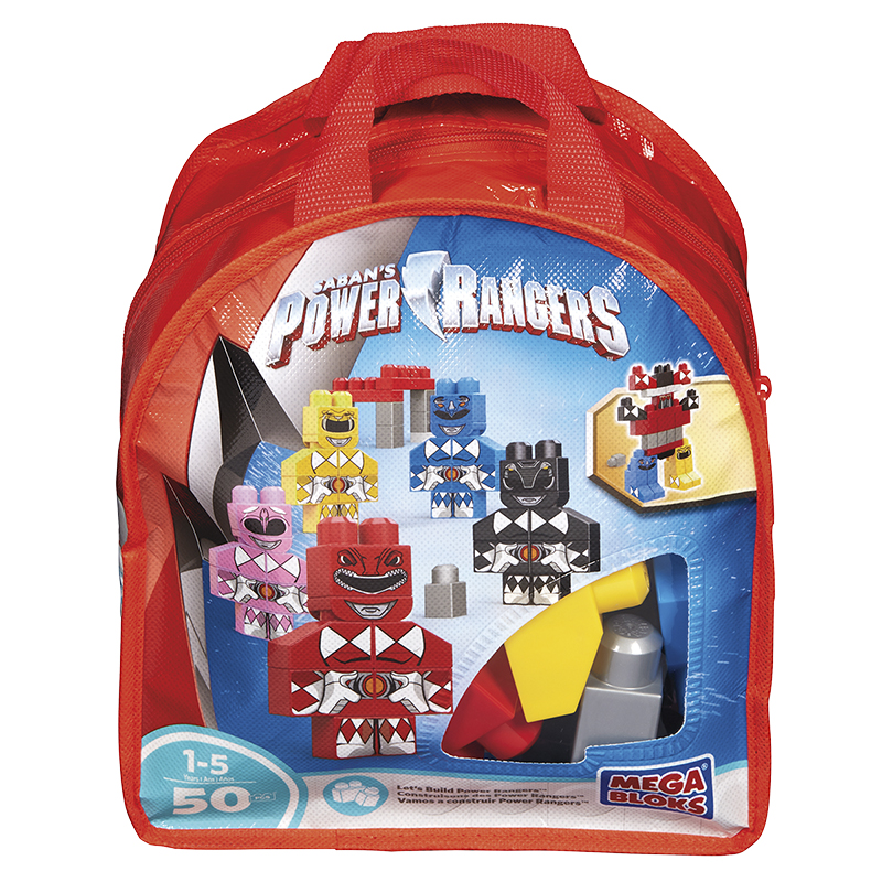 Mega Bloks Bag of Blocks - Power Rangers