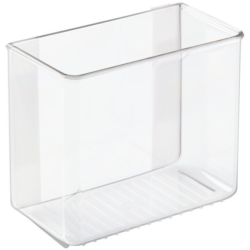 InterDesign AffixPagage Organizer - Clear - 3 x 6 x 5in