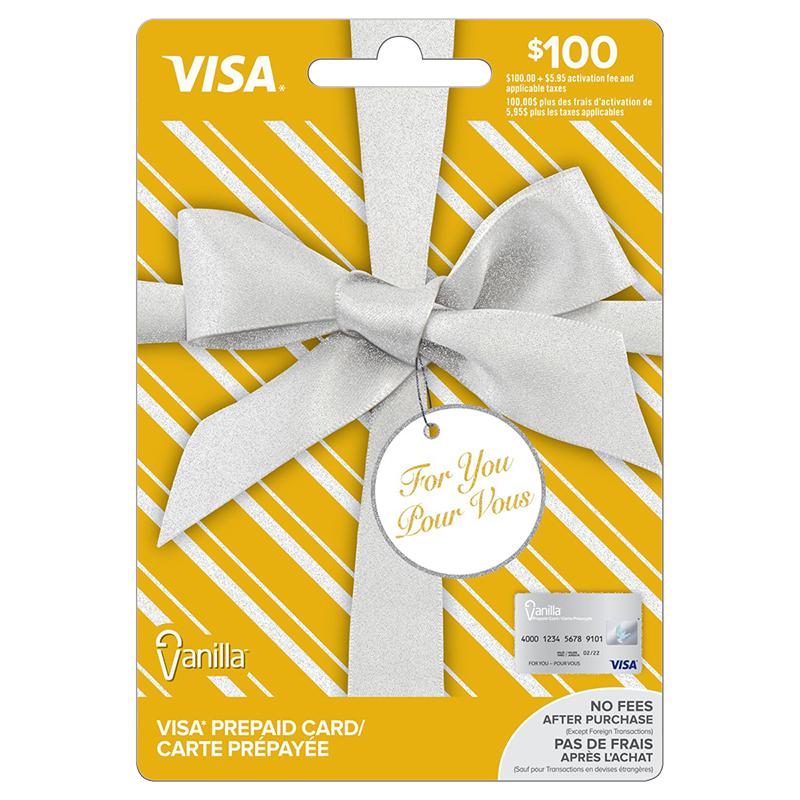 Vanilla Visa Gift Card - $100