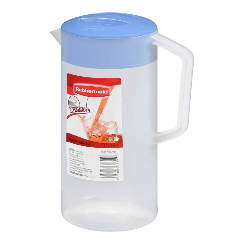 Rubbermaid Durable Classic Pitcher - Periwinkle - 1.89L