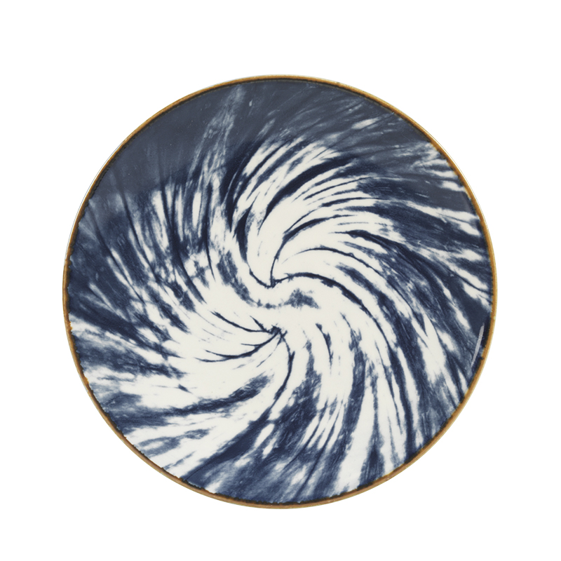 London Drugs Porcelain Reactive Plate - 8.5in - Assorted
