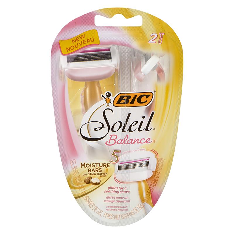 Balance Board London Drugs: Bic Soleil Balance Ladies Shavers - 2's