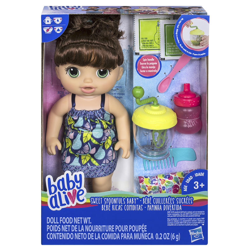 Baby Alive Spoonful Doll - Brunette