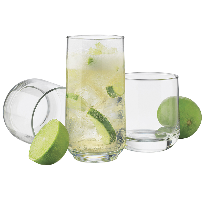 Libbey Ascent Beverage Set - 16 piece