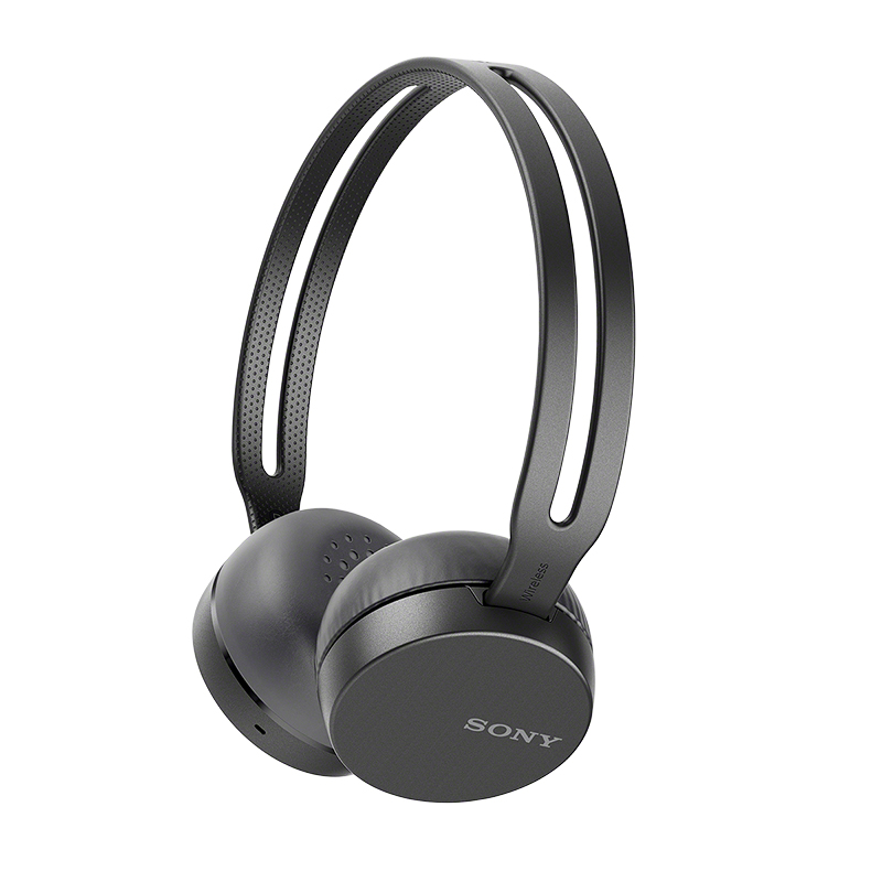 Sony Bluetooth Over-Ear Headphones - Black - WHCH400B